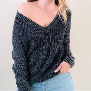 VS PINK oversized knit sweater - XS